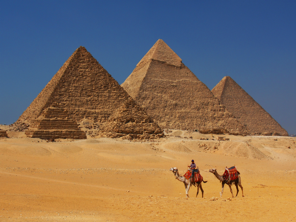 photo of pyramids in Egypt